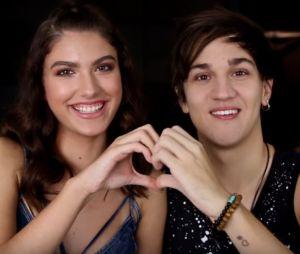 Giovanna Grigio e Christian Figueiredo fazem vídeos juntos