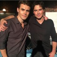 """De """"The Vampire Diaries"""", Ian Somerhalder e Paul Wesley se despedem da série e fãs elogiam"""