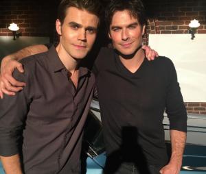 """De """"The Vampire Diaries"""", Paul Wesley e Ian Somerhalder se despedem da série em foto!"""
