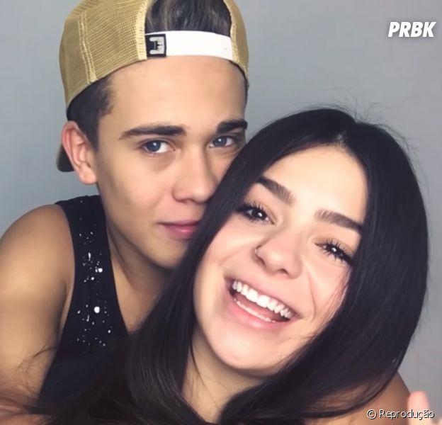 Luis Mariz e Viih Tube: 5 vídeos pra sentir saudade do namoro deles!