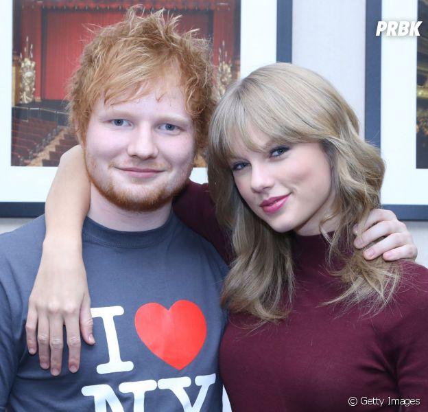 Ed Sheeran conta que está planejando parceria com Taylor Swift