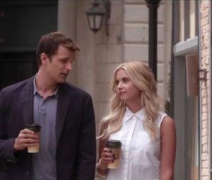 """Hanna Marin (Ashley Benson) com uma calça super moderna em""""Pretty Little Liars"""""""