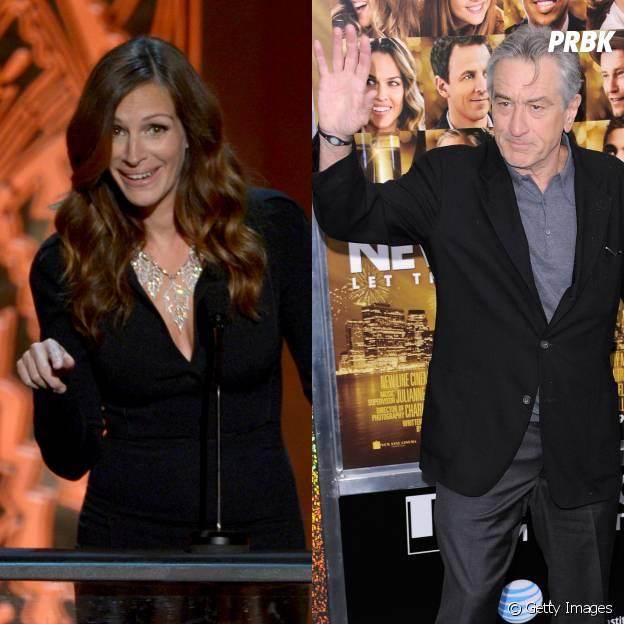 Julia Roberts e Robert De Niro estão planejando vim ao Brasil para a Copa do Mundo
