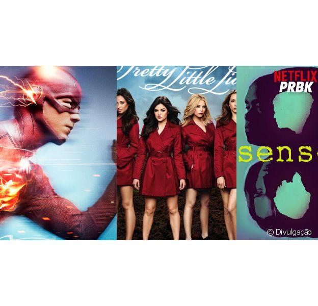 """""""The Flash"""", """"Pretty Little Liars"""" e outra são definitivamente séries que estão na Netflix para assistir debaixo do edredom!"""