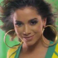 """Anitta lança clipe de """"No Meio da Torcida"""" para a Copa do Mundo"""