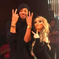 Larissa Manoela e DJ Maejor, melhor amigo do Justin Bieber, se encontram em evento de moda!