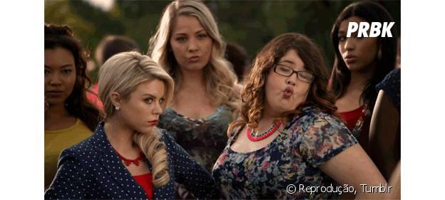 """Laurem (Bailey Buntain) é a mais maldosa da série """"Faking It"""" e tem seu próprio exército!"""