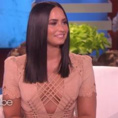 """Demi Lovato se emociona ao falar de reabilitação com Ellen DeGeneres: """"Realmente comecei a viver"""""""