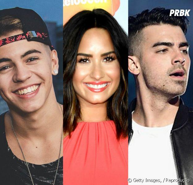Biel, Demi Lovato, Joe Jonas e mais: 10 cantores que a galera tem vergonha de admitir que ama!