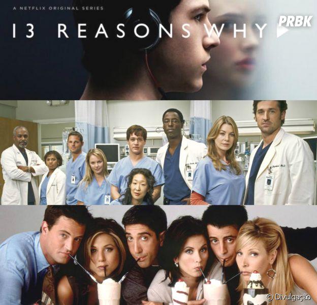 """Com """"13 Reasons Why"""", """"Grey's Anatomy"""" e """"Friends"""": 10 séries que já fizeram todo mundo chorar!"""