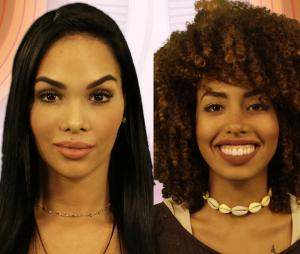"""Do """"BBB 17"""": Mayara diz que Gabriela Flor tem que alisar o cabelo"""