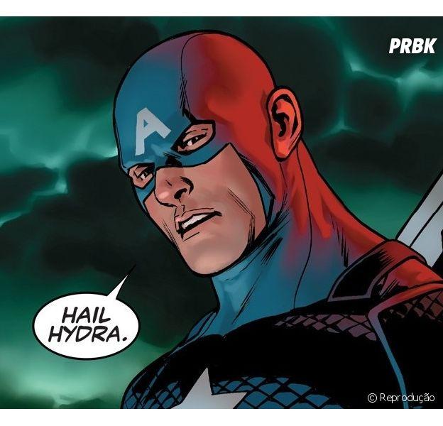Marvel revela que Capitão América sempre foi um vilão da Hidra!