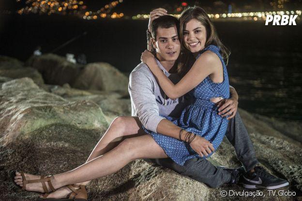 """Na temporada 2014 de """"Malhação"""", Bianca (Bruna Hamú) e Duca (Arthur Aguiar) também tiveram uma ótima história de amor"""