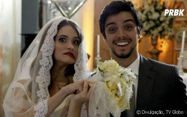 """Em 2012, foi a vez do casal Brutinha, ou melhor, Fatinha (Juliana Paiva) e Bruno (Roodrigo Simas) conquistarem o público em """"Malhação"""""""