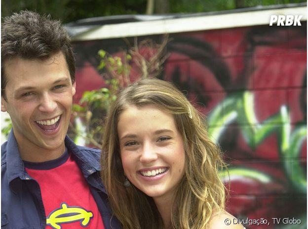"""Letícia (Juliana Didone) e Gustavo (Guilherme Berenguer) são com certeza o casal mais querido de todas as temporadas de """"Malhação"""""""