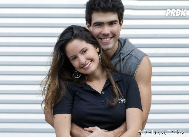 """Romance de Nanda (Amanda de Godoi) e Rômulo (Juliano Laham) é um dos pontos principais desta """"Malhação"""""""