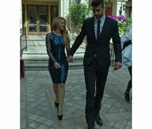 Além do Brasil, Shakira também torcia para a Espanha, seleção pela qual o marido, Gerard Piqué atua