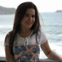 """Maisa Silva, de """"Carinha de Anjo"""", dá conselhos sobre o tempo em seu novo vídeo"""