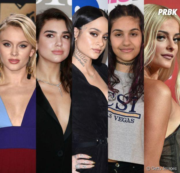Zara Larsson, Dua Lipa, Kehlani, Alessia Cara e Bebe Rexha: 5 cantoras pop que você precisa conhecer!