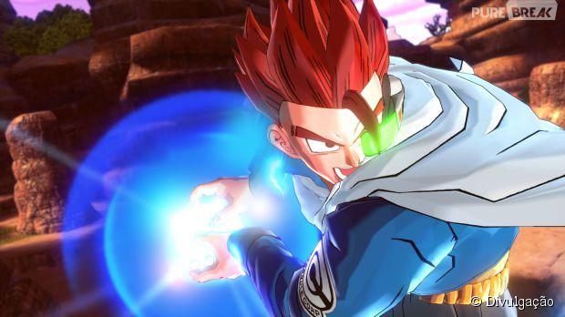 """O guerreiro do futuro usando seu ki em """"Dragon Ball Xenoverse"""""""