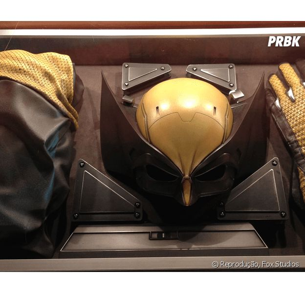 O uniforme oficial do Wolverine