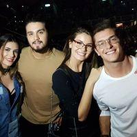 Luan Santana, Bruna Marquezine, Rafael Vitti e mais curtem show do Ed Sheeran no Rio de Janeiro!