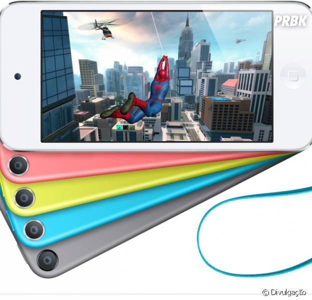 Apple lança novos modelos do iPod Touch