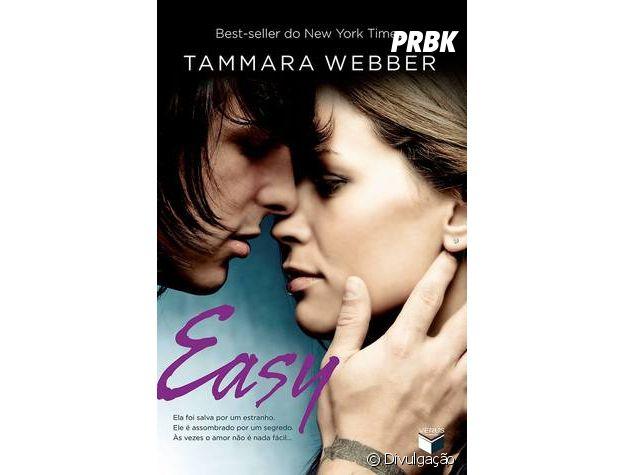 """""""Easy"""" foi escrito por Tammara Webber, e é o primeiro livro da trilogia """"Contornos do Coração"""""""