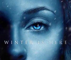 """Em """"Game of Thrones"""", 7ª temporada, mostra frio em Westeros!"""