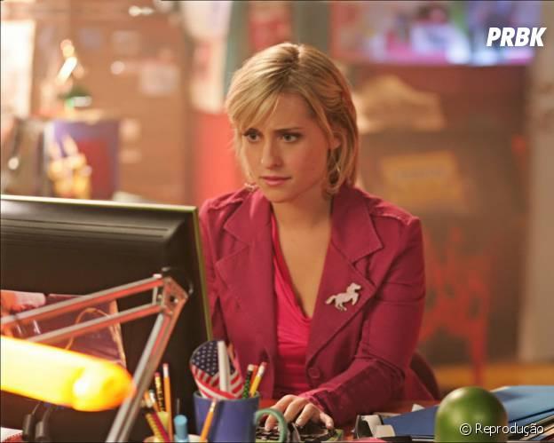 """""""Smallville"""" contava com a hacker Chloe Sullivan"""