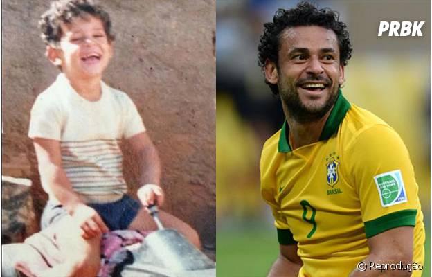 Fred também já foi criança!