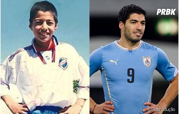 Será que o Suárez mordia os amiguinhos quando era criança?