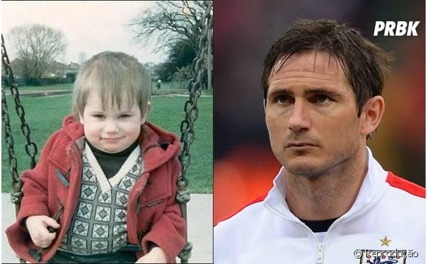 O veterano Lampard quando era bem novinho