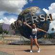 Larissa Manoela conheceu os parques da Universal