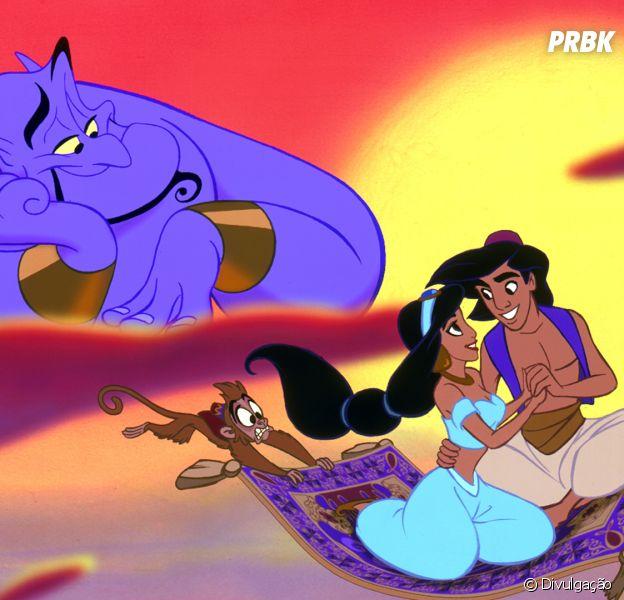 """De """"Aladdin"""": saiba quem interpretará os personagens principais do live-action!"""