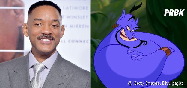 """Will Smith viverá o Gênio da Lâmpada em """"Aladdin"""""""