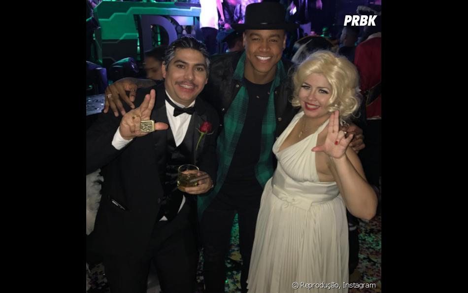 Leo Santana fez show no aniversário da Marilia Mendonça