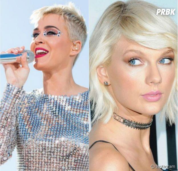 Katy Perry novamente explica desentendimento com Taylor Swift