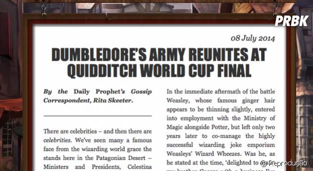 J.K. Rowling fala sobre o futuro de Harry Potter e seus amigos