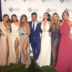 Bruna Marquezine e Sasha Meneghel vão a evento beneficente de Leonardo DiCaprio, em Saint-Tropez