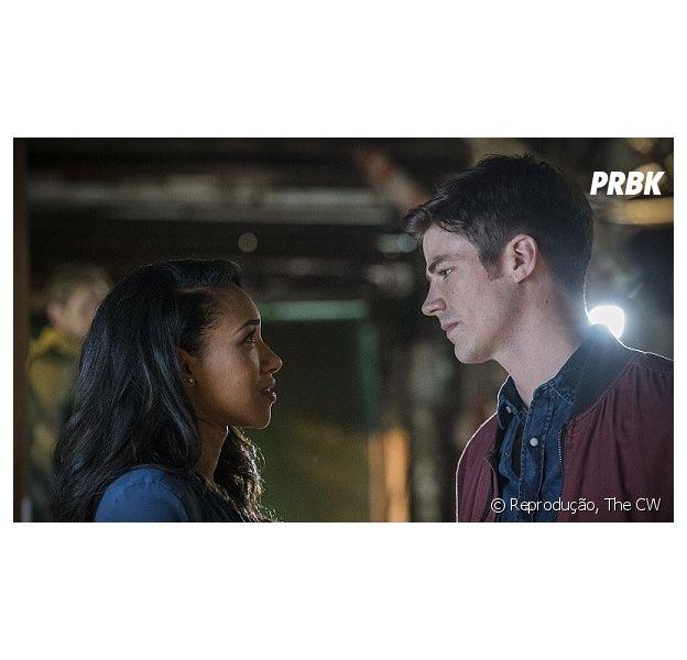 """De """"The Flash"""": Barry (Grant Gustin) e Iris (Candice Patton) podem se casar no crossover com """"Arrow"""", """"Legends of Tomorrow"""" e """"Supergirl""""!"""