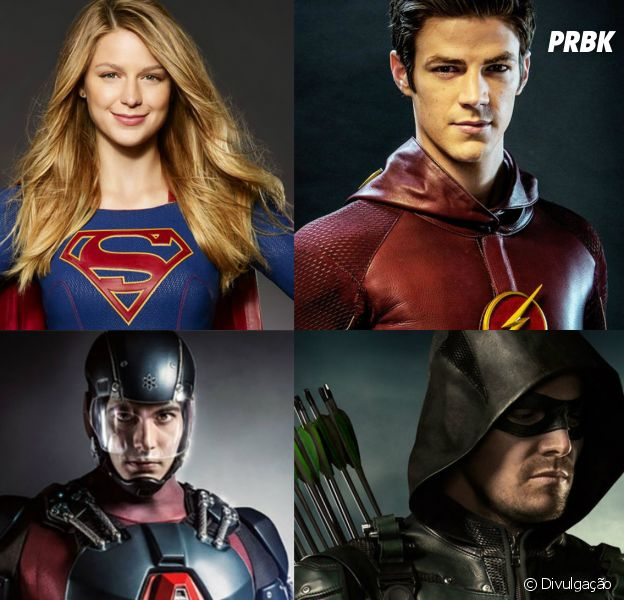 "Próximo Crossover DC da CW vai envolver as quatro séries, ""Supergirl"", ""The Flash"", ""Arrow"" e ""Legends Of Tomorrow"""