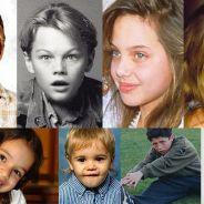 Reconhece essas crianças? Veja 26 fotos de famosos quando pequenos