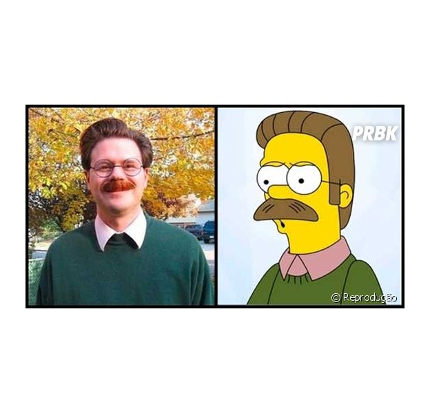 Ned Flanders, Os Simpsons