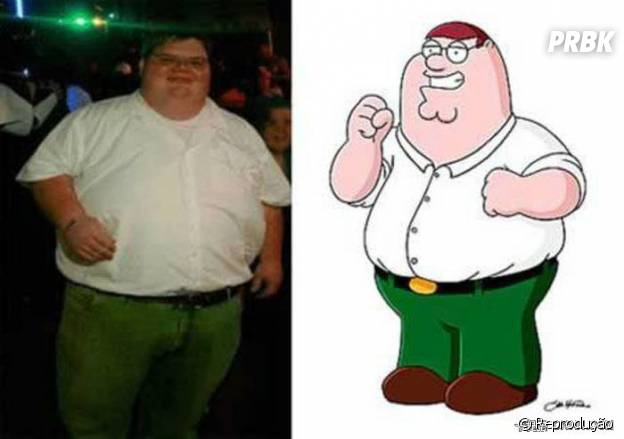 Peter Griffin da vida real