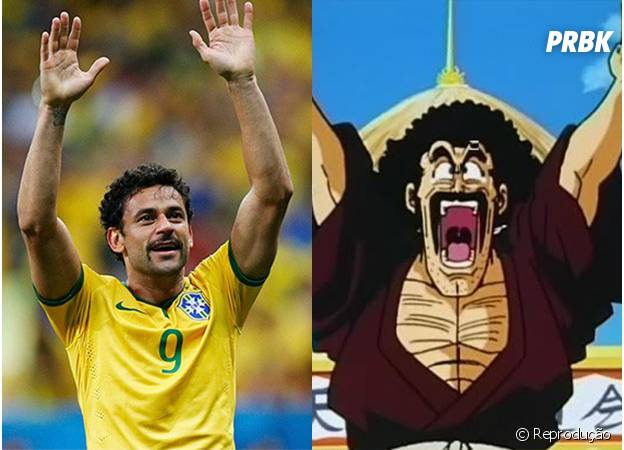 Fred é a cara do Mr. Satan, de Dragon Ball Z!