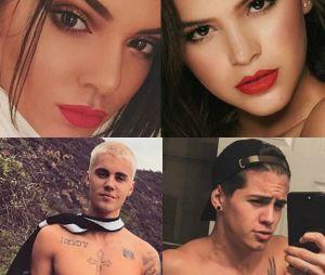 Como Bruna Marquezine e Kendall Jenner e Justin Bieber e Biel, veja os famosos que se parecem!