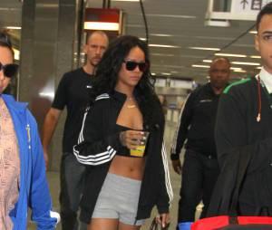 A diva Rihanna chegou nesta sexta-feira (11), para a Copa do Mundo! Ela desembarcou no Rio