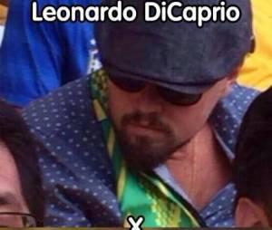Leonardo DiCaprio veio para a Copa e ainda virou meme!