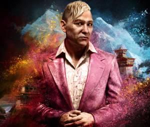 """Descubra porque Pagan Min de """"Far Cry 4"""" usa um terno cor de rosa"""